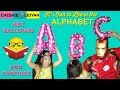 LEARNING ABC's WITH BALLOONS, Egg Surprises, Balloon Fight, Fun Toys and Games