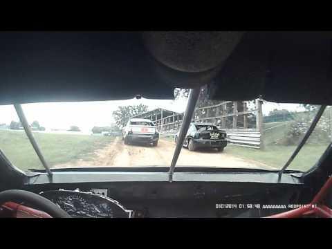 Shawn Kraft 12j heat 2 Fayette County Speedway 7-26-17