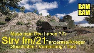 World of Tanks Replay 0092 (deutsch) Strv fm/21 - Geschichte/Vergleich/Test !