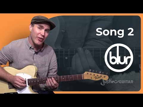 Song 2 - Blur - Guitar Lesson Beginner Easy Song (SB-326) How To Play