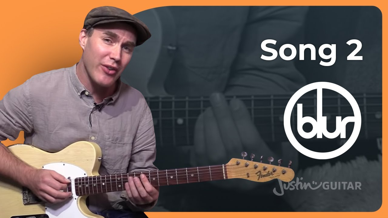 song 2 blur guitar lesson beginner easy song sb 326 how to play youtube. Black Bedroom Furniture Sets. Home Design Ideas