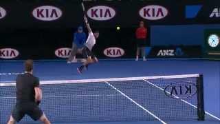 Shot of the day: Grigor Dimitrov - Australian Open 2015