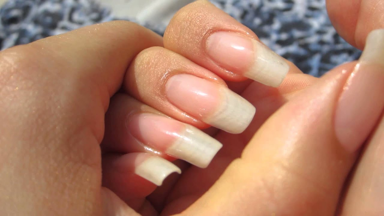 long natural nails - dani 89