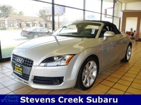 2008 audi tt 2 0t roadster for sale youtube. Black Bedroom Furniture Sets. Home Design Ideas