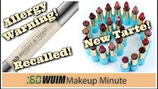 Makeup Minute | Urban Decay PULLS the NEW Bright and Tight Primer + NEW Tarte Lipsticks and MORE!