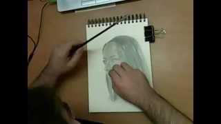 Серафима Низовская speed drawing