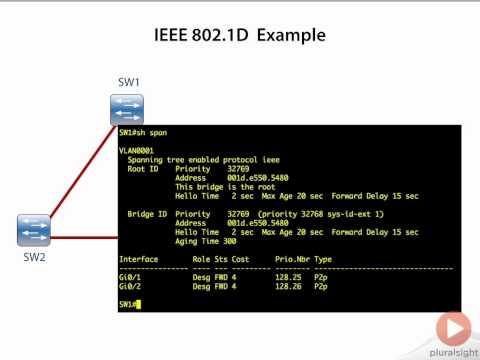 IEEE 802 1D Example