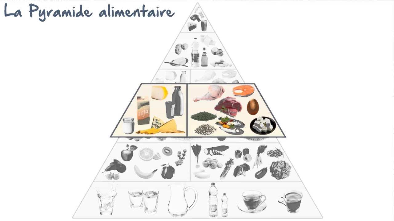 Connu La pyramide alimentaire - YouTube QG39