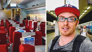 BUSAN TO SEOUL KTX First Class Review | Train ride in South Korea