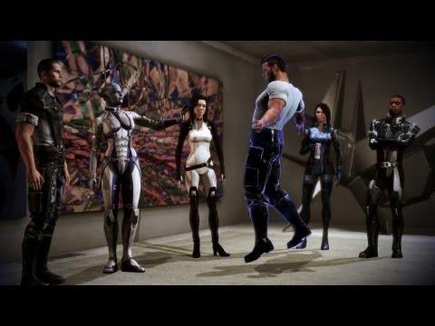 Mass Effect 3: Liara Shows Vega the Power of Biotics