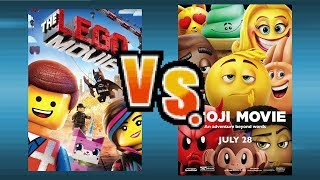The Lego Movie Vs The Emoji Movie