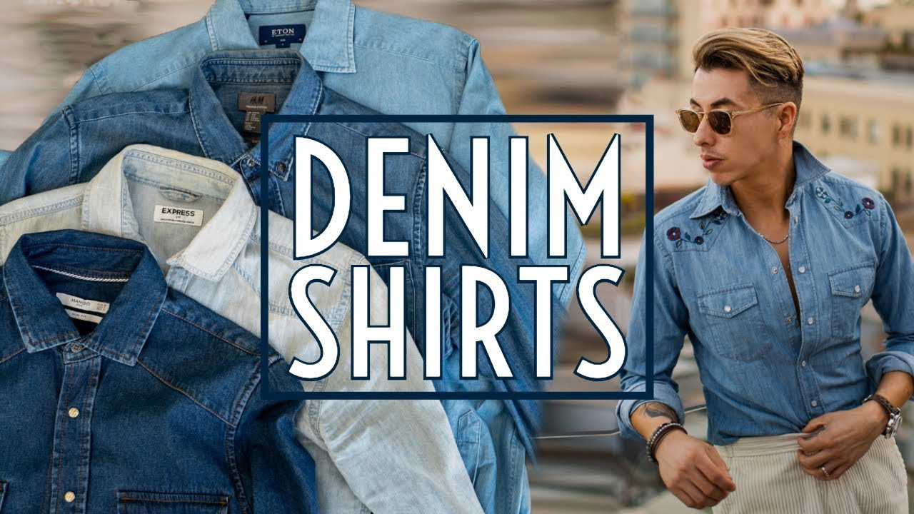 [VIDEO] - How to Style Denim Shirts || Men's Fashion 2019 || Gent's Lounge 9