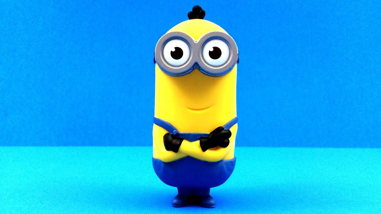 Talking Minion Kevin 2015 McDonald's Minions Movie Toy #1 ...