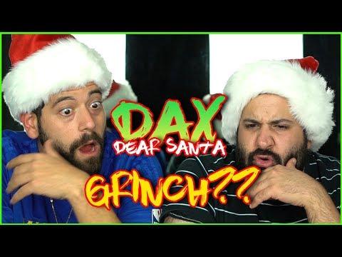CHRISTMAS CAME EARLY!! Music Reaction   Dax - Dear Santa ft. The Grinch