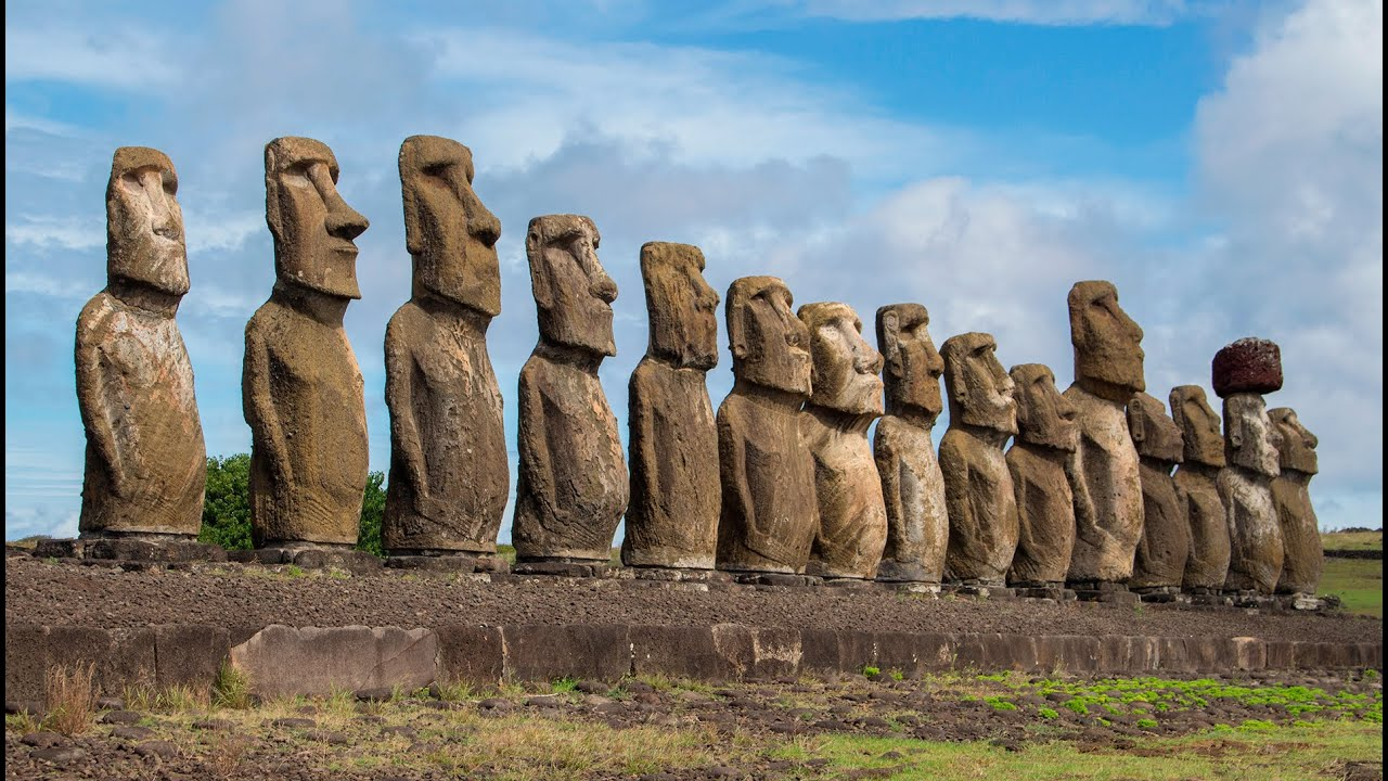 Mysterious Easter Island, Chile - YouTube