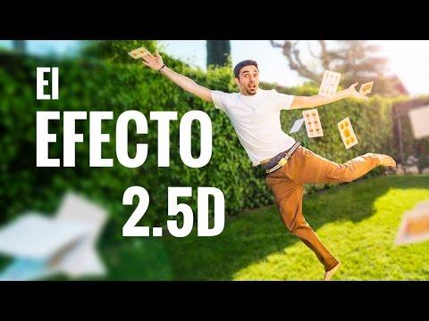 Cómo ANIMAR una FOTO - el EFECTO 2.5D - Parte 1