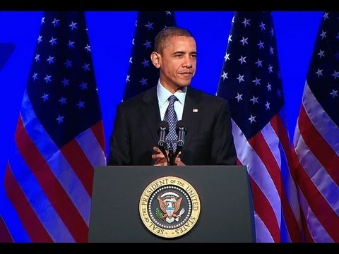 President Obama Speaks at the Associated Press Luncheon