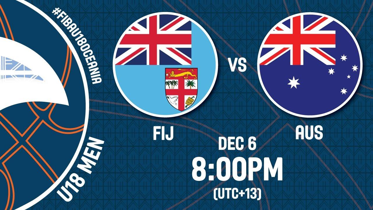 Australia v Fiji - Live Stream - FIBA U18 Oceania Championship 2016