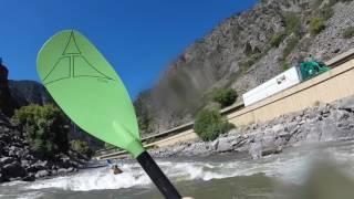 Shoshone kayaking 1700cfs