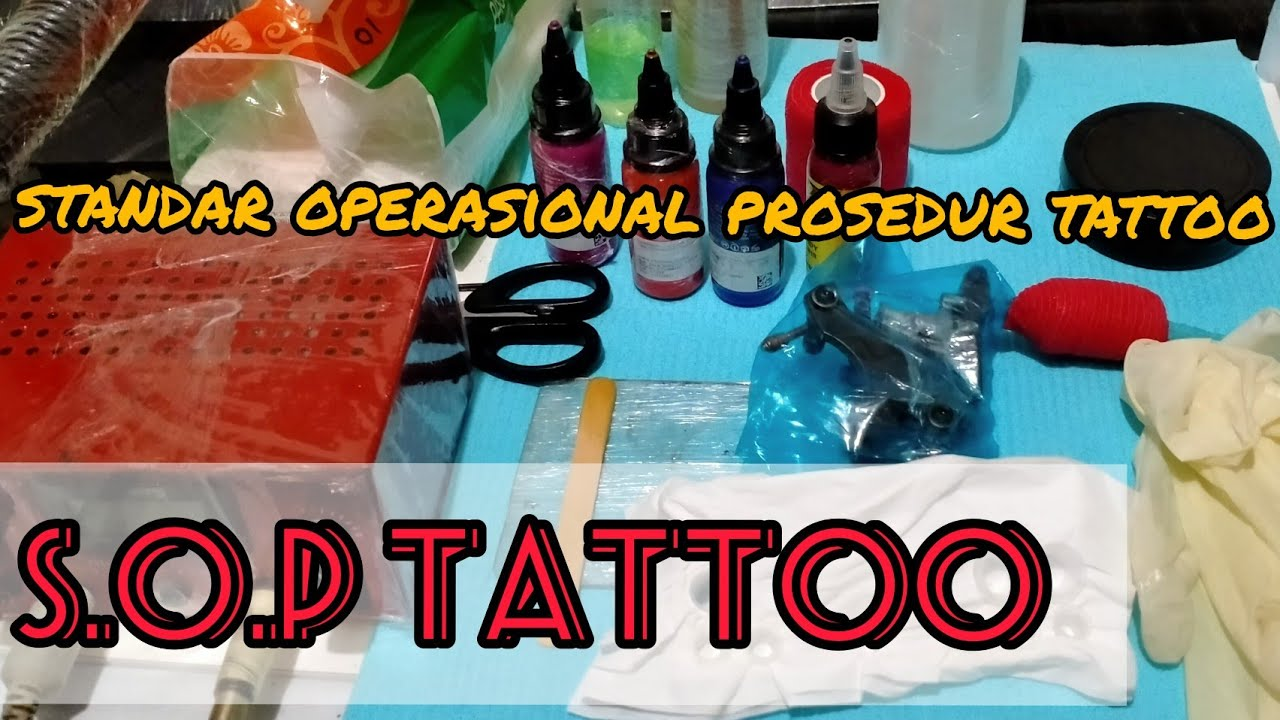 sop tato    standar operasional prosedur tattoo    tato tutorial