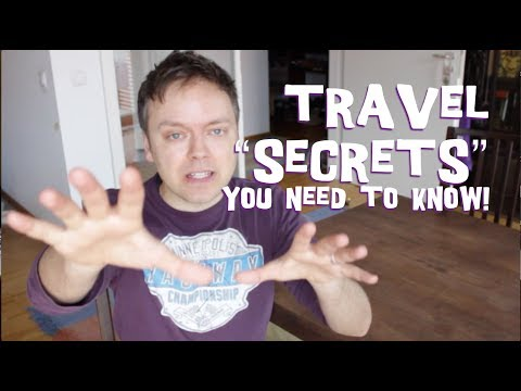 Very unOfficial Travel Tips and Secrets You NEED to Know!