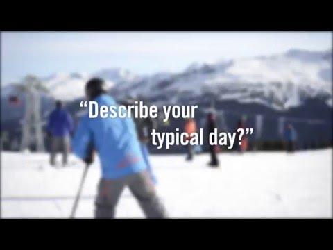 Working for Whistler Blackcomb's Snow School