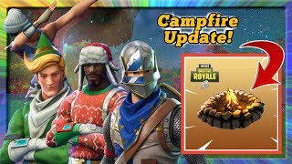 Cozy Campfire, Boogie Bomb Nerf, Bug Fixes, et plus encore Mise à jour Fortnite Battle Royale