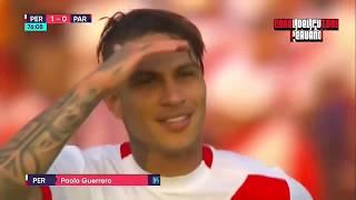 Peru vs Paraguay 1 0 golazo de tiro libre de paolo guerrero