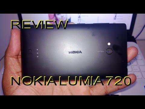 Nokia Lumia 720 Review Português!
