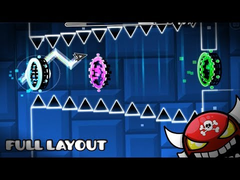 "[NEW LAYOUT] ""HE'S A PIRATE"" (Full Layout Demon) - GEOMETRY DASH 2.1"