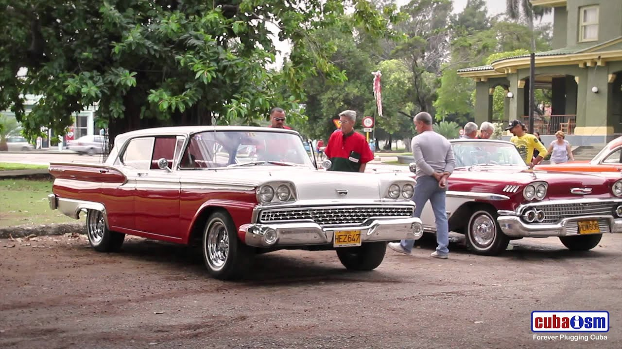 Cuba Classic Car Rally Technical Inspection Youtube