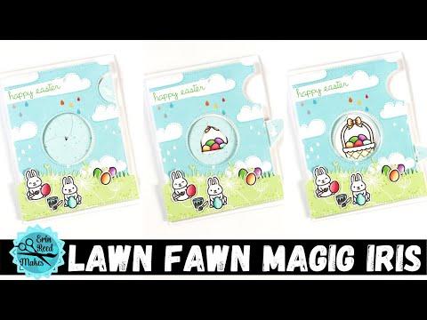 lawn fawn magic iris