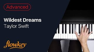 Wildest Dreams – Taylor Swift (Piano Cover)