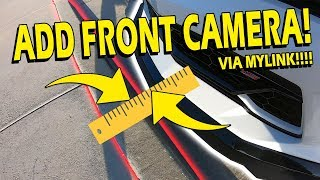 Save your Splitter! Front Facing Camera for MyLink Install & Overview