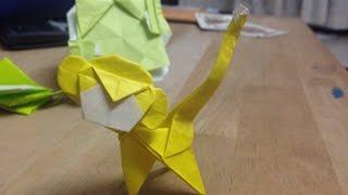 Origami Monkey Tutorial (Carlson Choo)