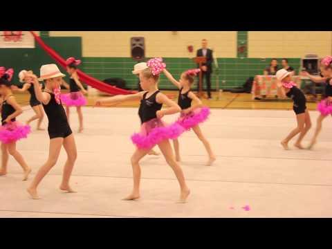 Ottawa Rhythmic Gymnastics Club (ORGC) Christmas Show 2014