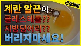 계란알끈이 콜레스테롤?…