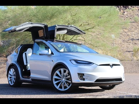 FASTEST SUV IN THE WORLD! TESLA MODEL X P100D