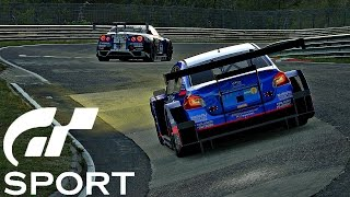 Gran Turismo Sport - Gameplay Nissan GT-R Nismo GT3 @ Brands Hatch [1080p 60fps]