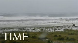 Watch Hurricane Michael approach Panama City, Florida | TIME