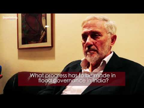 Geomorphologist Robert James Wasson discusses flood risk reduction in India