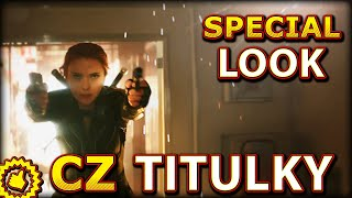 Black Widow SPECIAL LOOK: Trailer CZ Titulky