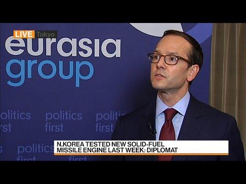 Eurasia's Medeiros Says N. Korea Policy Options Limited