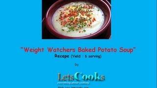 Weight Watchers Baked Potato Soup
