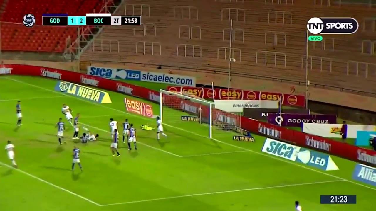 GOL de IZQUIERDOZ | Godoy Cruz 1-3 Boca