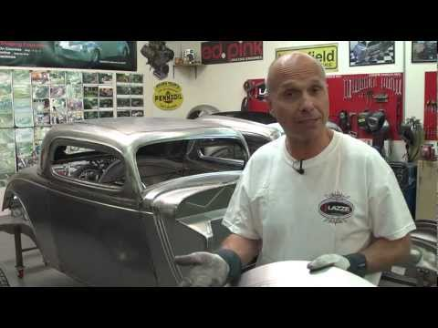 Metal Shaping with Lazze:  Metal Fender Flare with Inner Lip Part 1 of 3