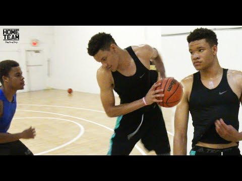 Projected NBA Lottery Pick Kevin Knox Workout at Process Basketball - University of Kentucky