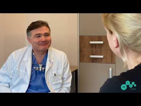 Удаление аденомы околоушной слюнной железы слева. Профессор Орлов А.А.