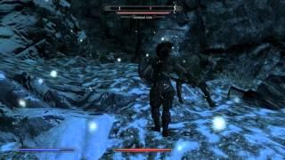 The Elder Scrolls 5 Skyrim часть 29 Нижняя отвесная нора , Женщина укусаная вампиром и бой за Тороль