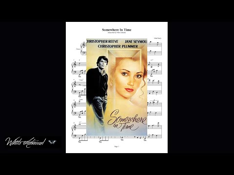 Somewhere in Time - John Barry - Piano